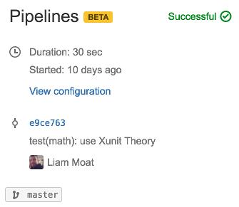 Pipelines Build Summary