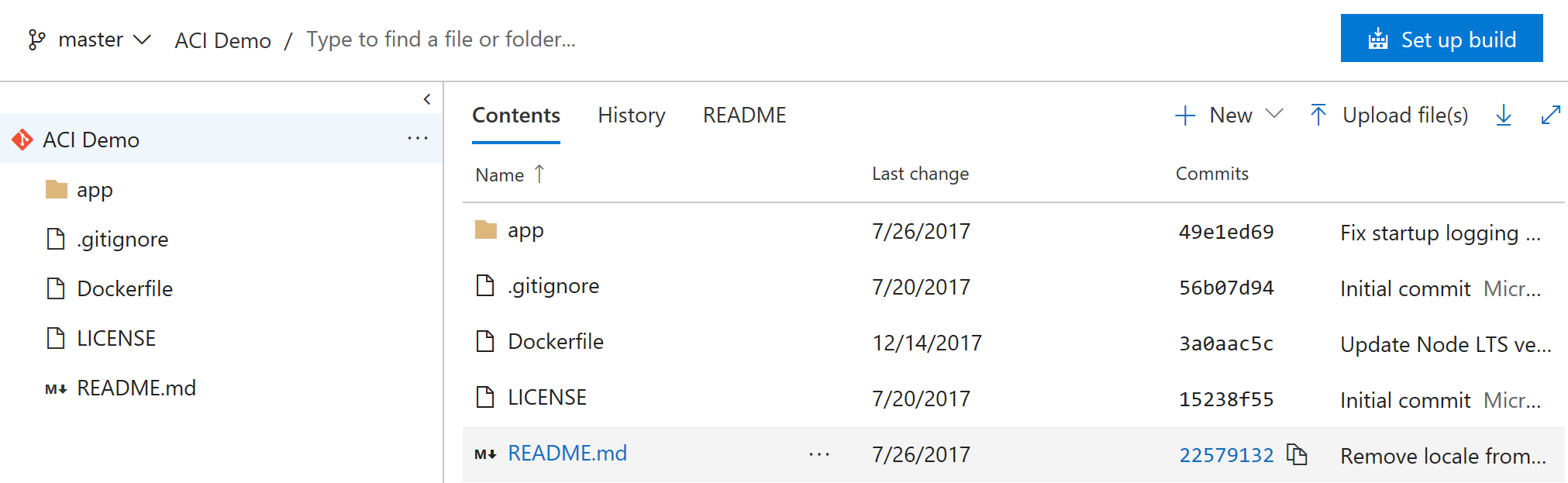 VSTS: New Repository